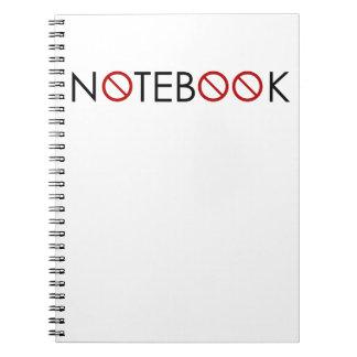 ノート無し-すべての事を…考慮に入れません ノートブック