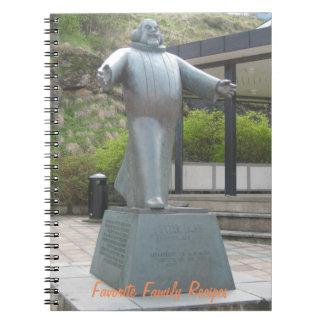 ノート: ずんぐりしたPetterの低音の彫像 ノートブック