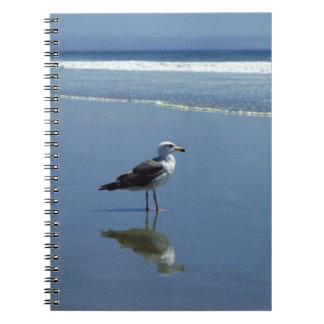 ノート/個人的なジャーナル-ビーチのカモメ ノート