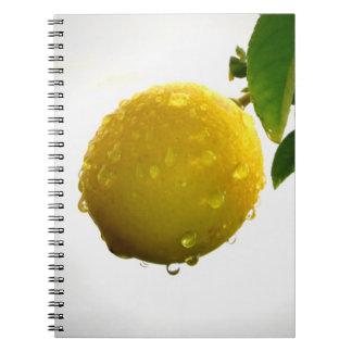 ノート/個人的なジャーナル-黄色いレモン ノートブック