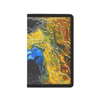 ノート-景色の抽象芸術-素晴らしい動き ポケットジャーナル