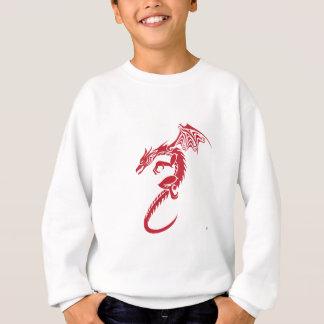 ノーバート赤いドラゴン スウェットシャツ