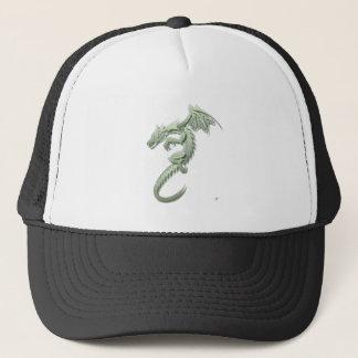 ノーバート金属緑ドラゴン キャップ