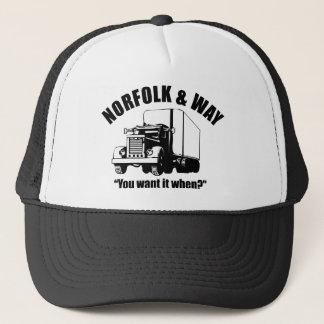ノーフォークおよび方法トラック運送の帽子 キャップ