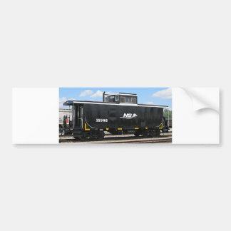 ノーフォークの南車掌車のバンパーステッカー バンパーステッカー