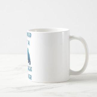 ノーフォークテリアによって所有される コーヒーマグカップ
