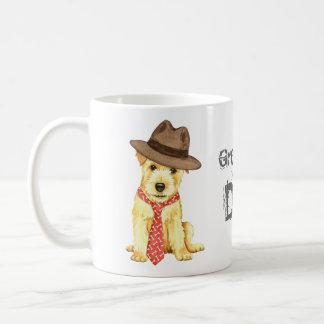 ノーフォークテリアのパパ コーヒーマグカップ