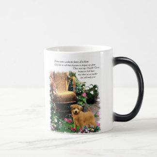 ノーフォークテリアの芸術のギフト モーフィングマグカップ