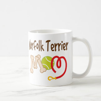 ノーフォークテリア犬の品種お母さんのギフト コーヒーマグカップ