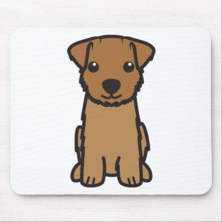 ノーフォークテリア犬の漫画 マウスパッド