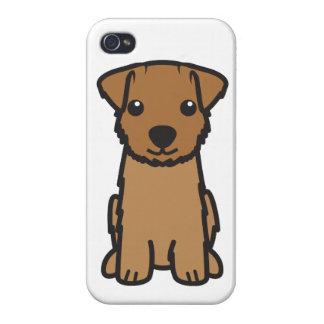 ノーフォークテリア犬の漫画 iPhone 4/4S カバー