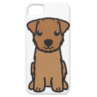 ノーフォークテリア犬の漫画 iPhone 5 ケース