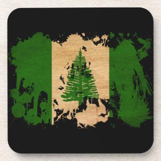 ノーフォーク島の旗 コースター