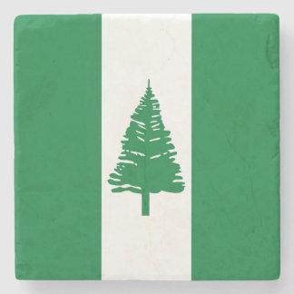 ノーフォーク島の旗 ストーンコースター