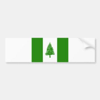 ノーフォーク島の旗 バンパーステッカー
