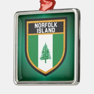 ノーフォーク島の旗 メタルオーナメント