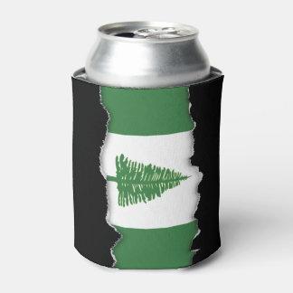 ノーフォーク島の旗 缶クーラー