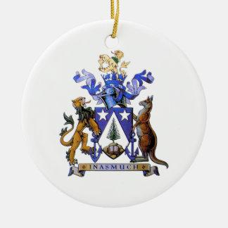 ノーフォーク島の紋章付き外衣 セラミックオーナメント