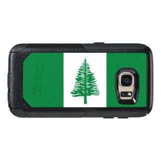 ノーフォーク島のSamsungのオッターボックスの場合の旗 オッターボックスSamsung Galaxy S7ケース