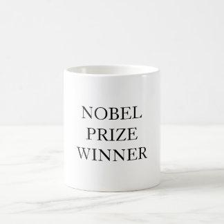 ノーベル賞の勝者 コーヒーマグカップ