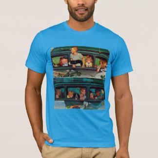 ノーマン・ロックウェル著来ては去って行くこと Tシャツ