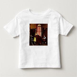 ノーマン・ロックウェル著結婚許可証 トドラーTシャツ