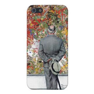 ノーマン・ロックウェル著芸術の鑑識家 iPhone 5 ケース