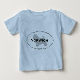 ノーリッジの楕円形 ベビーTシャツ