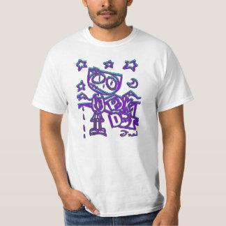 ハイウェーの祈ることの水玉模様 Tシャツ