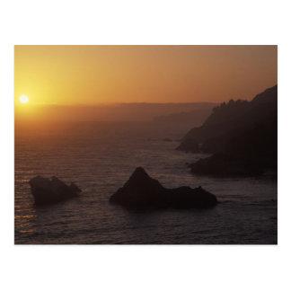 ハイウェー101、カリフォルニア、米国を離れた大きいSur ポストカード