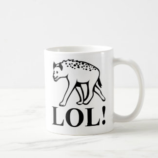ハイエナ-騒々しいLOLを笑わせること コーヒーマグカップ