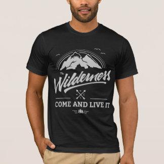 ハイキングしますTシャツ(独占的な版)を Tシャツ