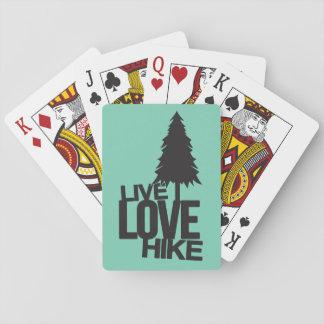 ハイキングする生きている愛ハイキング| トランプ