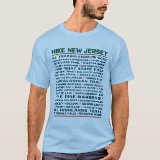 ハイキングニュージャージー-道 Tシャツ