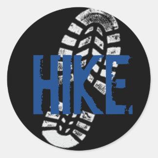 ハイキングBootprint ラウンドシール
