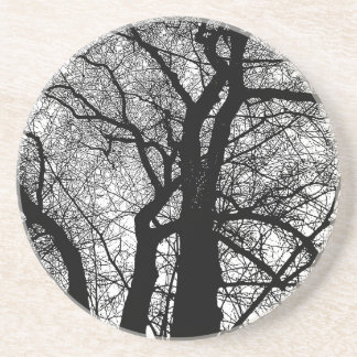 ハイコントラストの木 コースター
