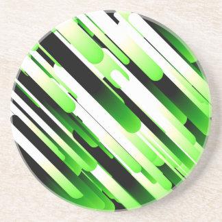 ハイコントラストの緑 コースター