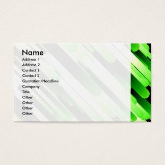 ハイコントラストの緑 名刺