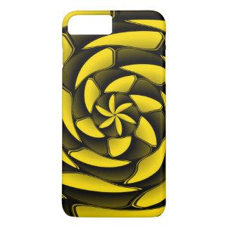 ハイコントラストの黒および黄色 iPhone 8 PLUS/7 PLUSケース