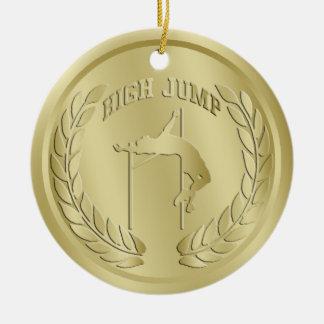 ハイジャンプの金ゴールドによってある調子を与えられるメダルオーナメント セラミックオーナメント