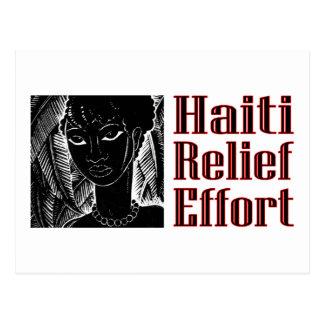 ハイチのため ポストカード