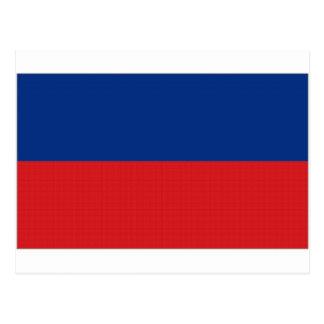 ハイチの国旗 ポストカード
