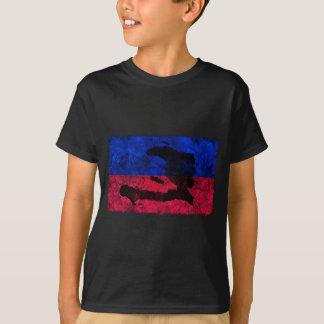 ハイチの国旗 Tシャツ
