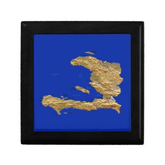 ハイチの地図のギフト用の箱 ギフトボックス