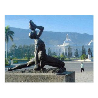 ハイチの地震のレリーフ、浮き彫り ポストカード