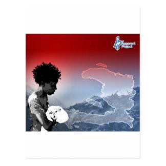 ハイチの地震 ポストカード