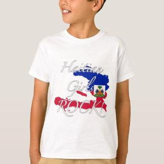 ハイチの女の子の石! Tシャツ