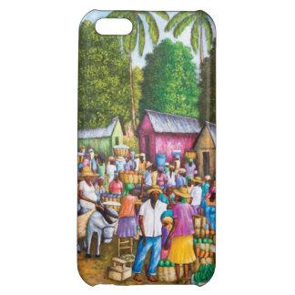 ハイチの市場のプリント iPhone5Cケース