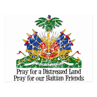 ハイチの救済 はがき