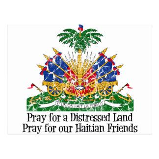 ハイチの救済 ポストカード